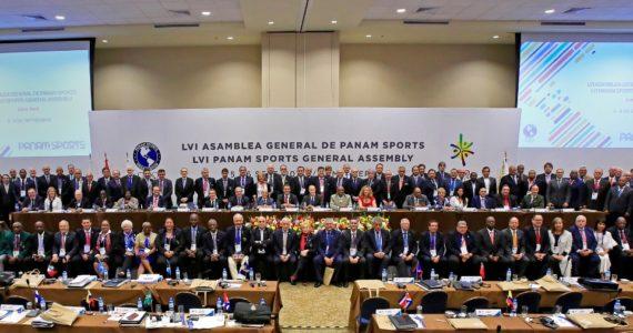Asamblea General Deportiva de Panampropone la creación de Juegos Panamericanos Juveniles, Junior y de Playa
