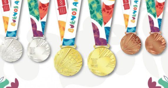 medallas de los JJOO de la Juventud de Buenos Aires 2018