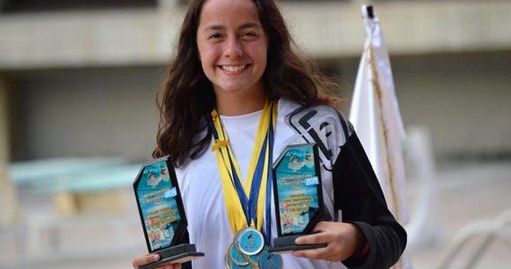Anabella Diaz rompe récord nacional de 33 años haciendo historia en la natación venezolana