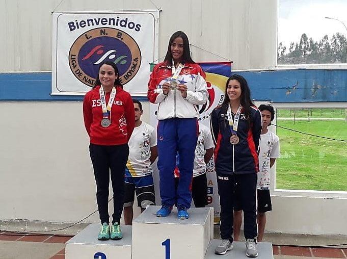 Larismar Arcila Natacion Juegos Universitarios Centroamericanos y del Caribe Ciolombia 2019