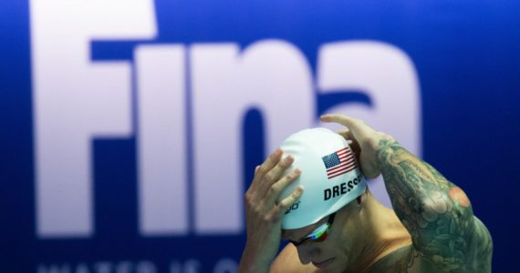 Dressel le arrebata otro récord mundial A Miachael Phelps