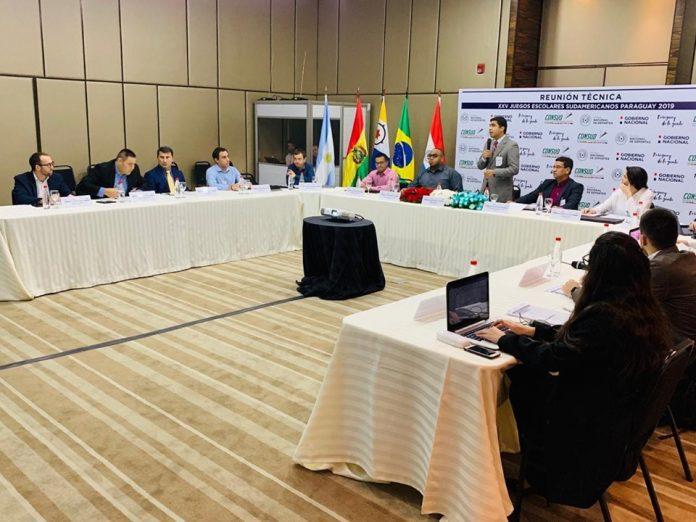 Paraguay se prepara para ser sede de los Juegos Sudamericanos Escolares 2019